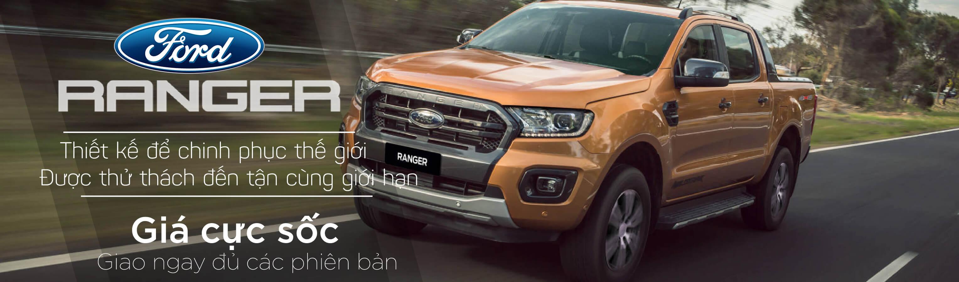 Ford Ranger 2021 - Chinh phục mọi địa hình