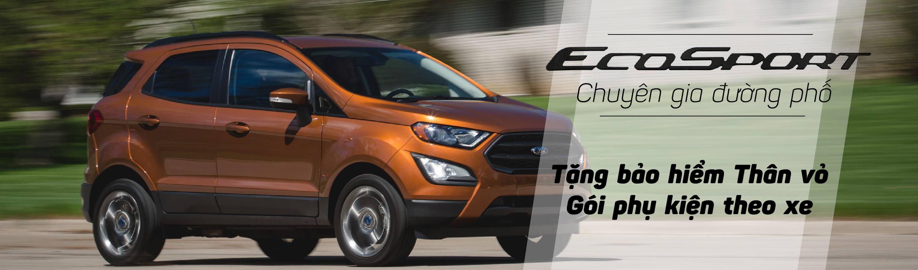 Ford Ecosport 2021 - Chuyên gia đường phố